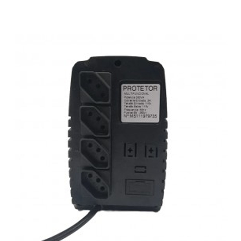 Protetor Eletrônico Para PC - 330va 110 Mono - Energy Lux