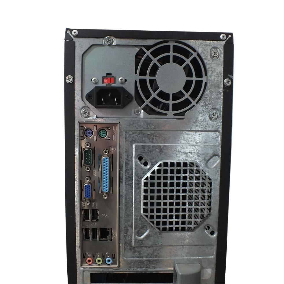 Computador AMD Phenom II X4 - 4gb ddr3 - HD 500gb - Prata