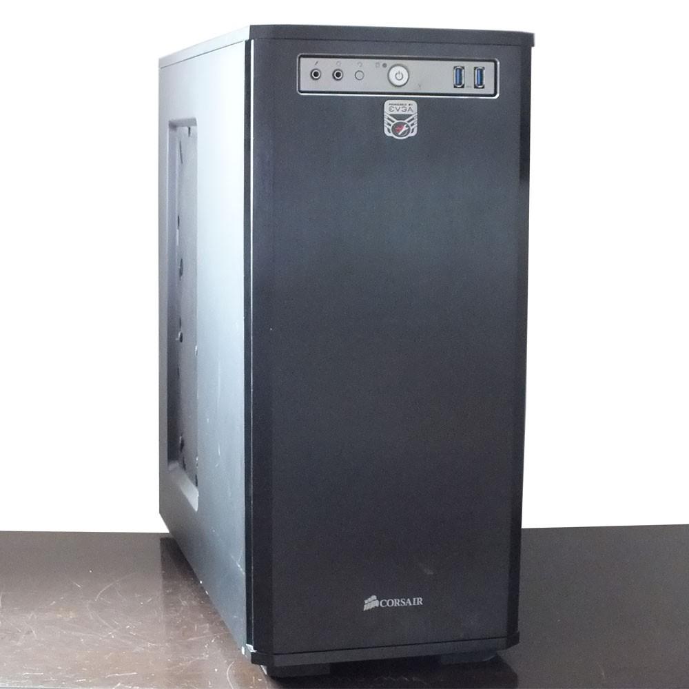 Usado: Computador Desktop - Core i3 4160 - 4gb ram - SSD 120gb - Placa de vídeo HD 7750