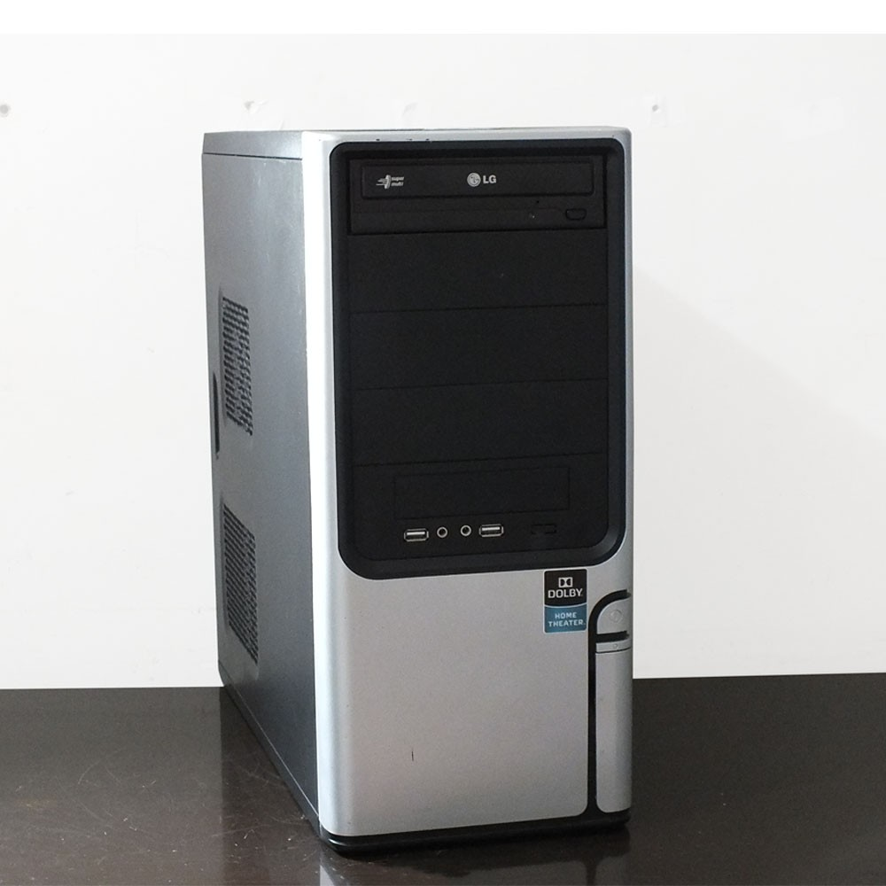 Usado: Computador Desktop Intel Core i3 560 - 4gb ram - HD 500gb