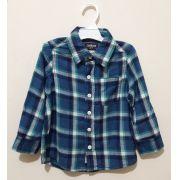 Camisa Xadrez Azul - OshKosh