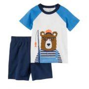 Conjunto 2 pçs Urso Pescador-Carter's