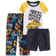 Pijama Maquina Pesada - Carter's