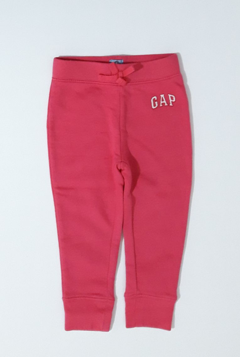 Calça Moletom Pink/White - Gap