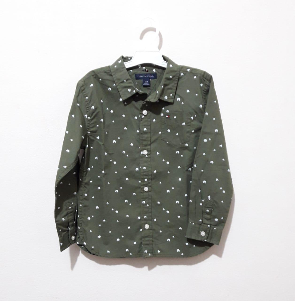 Camisa Manga Longa Estampa Chalés - Tommy Hilfiger