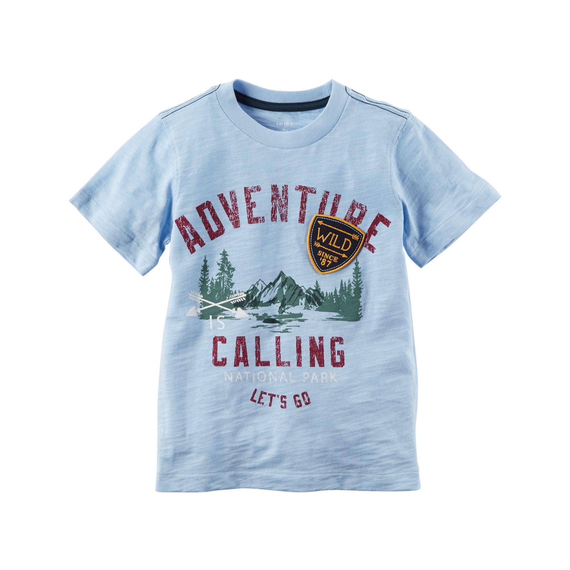 Camiseta Adventure Is Calling Graphic Tee - Carter's