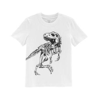 Camiseta Dinosaur Skeleton – Carter's