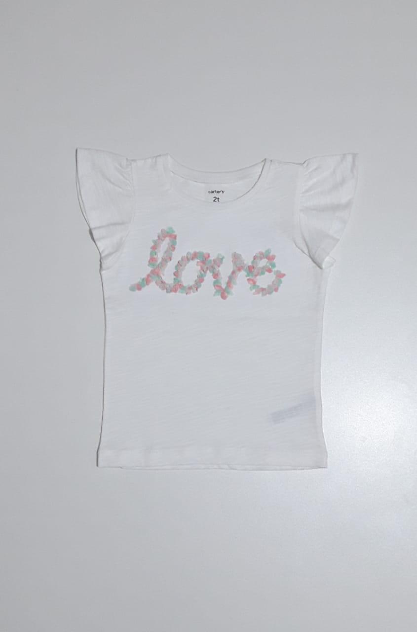 Camiseta Love - Carter's