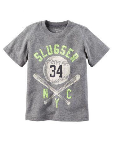 Camiseta Slugger NYC - Carter's