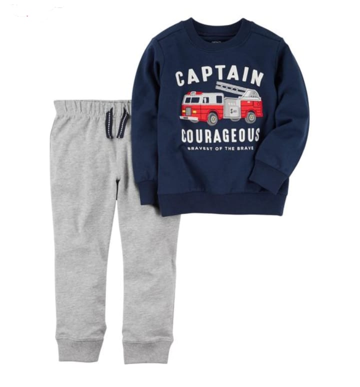 Conjunto 2 pçs Captain Courageous - Carter's