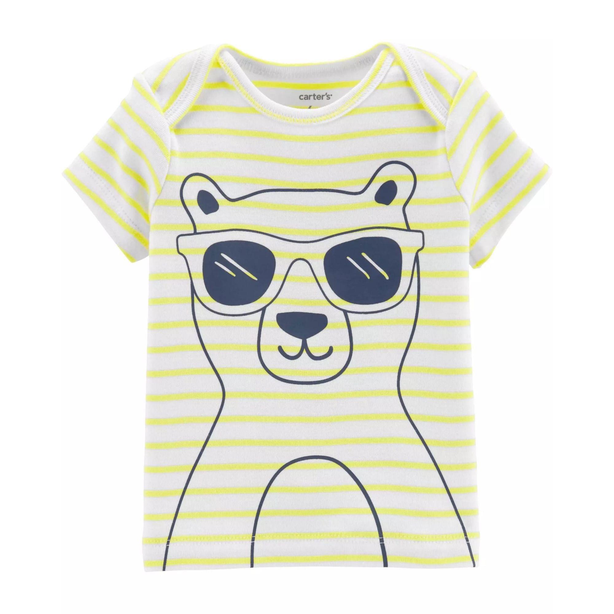 Conjunto 3 pçs  Bear Little Character - Carter's