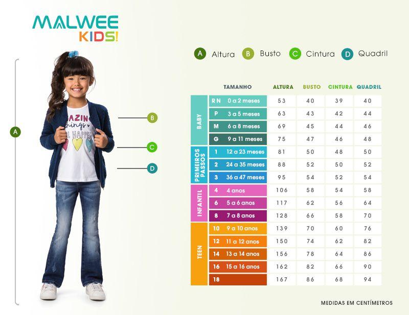 Conjunto Blusa + Bermuda - Havaina - Malwee Kids