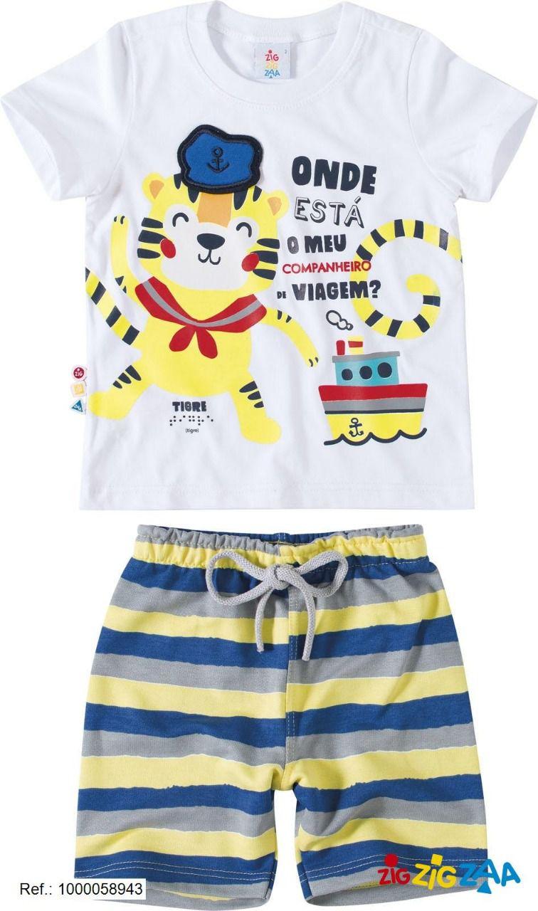 Conjunto Camisa Bermuda - ZIG ZIG ZAA