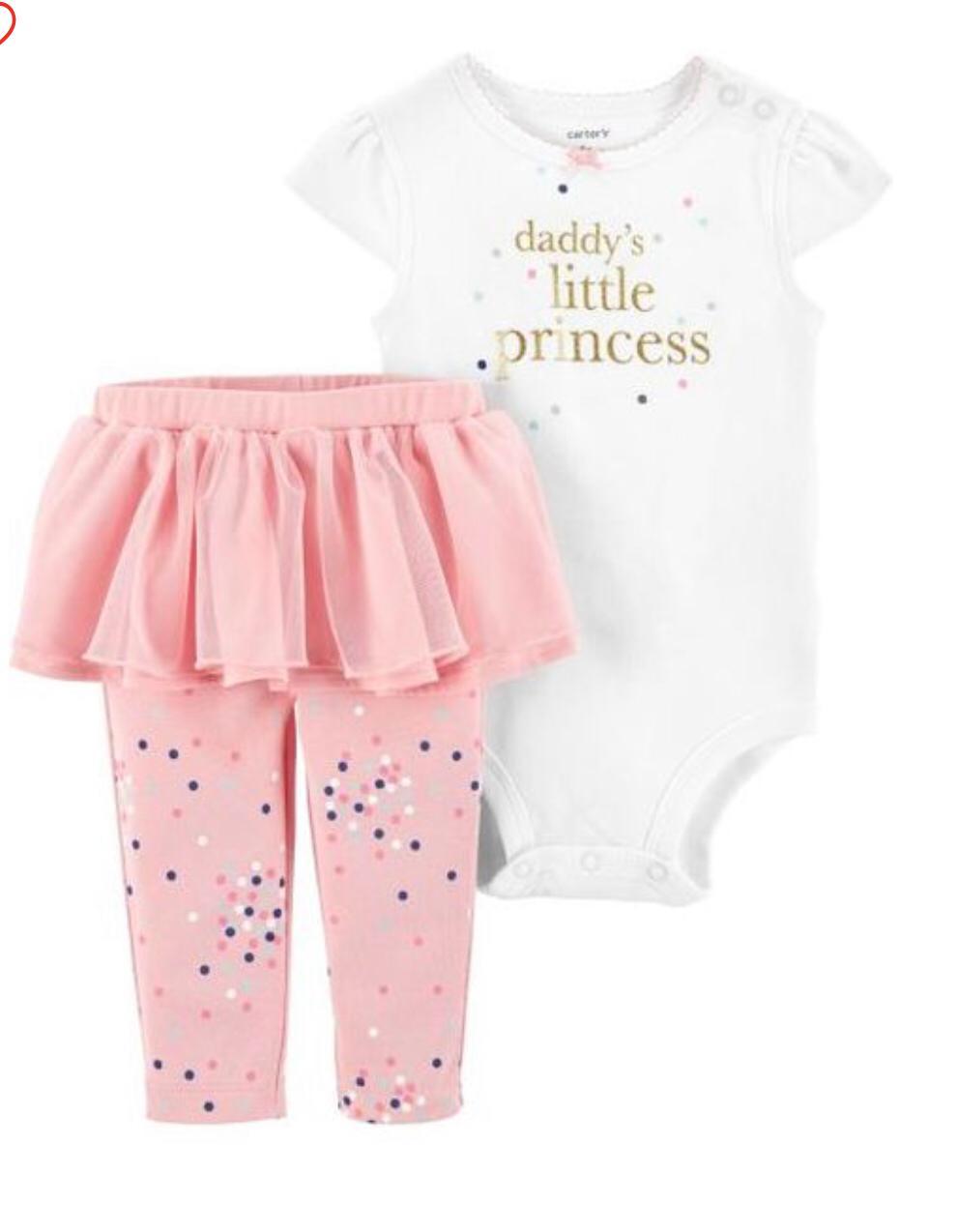 Conjunto Little Princess - Carter's