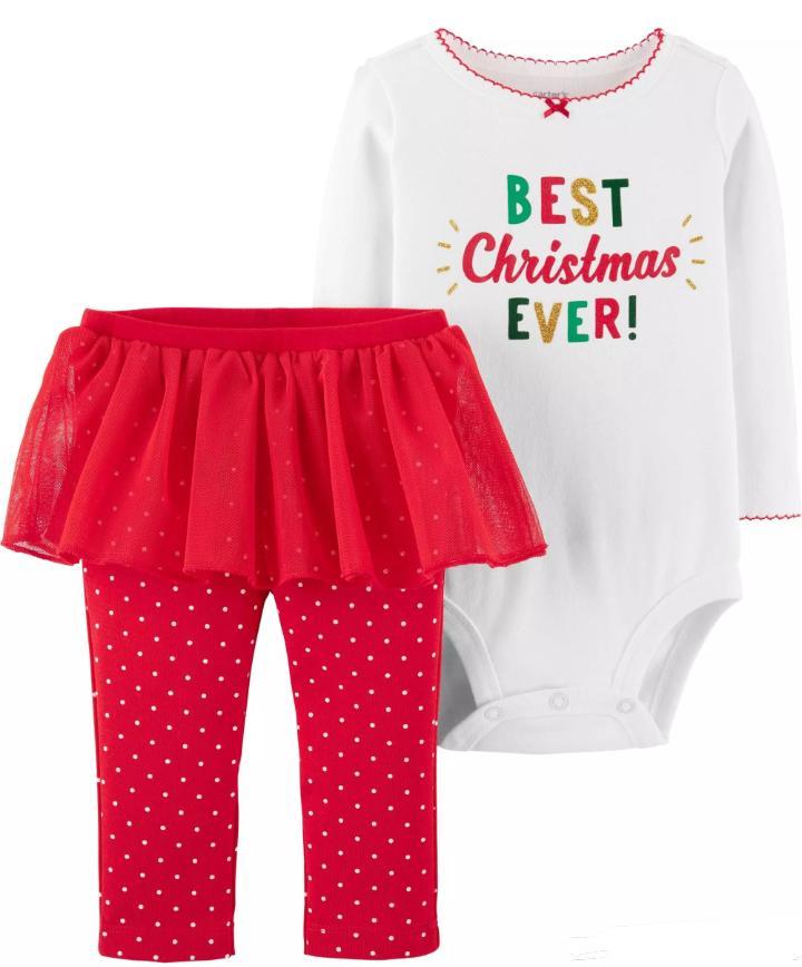 Conjunto My 1st Christmas Ever - Carter's
