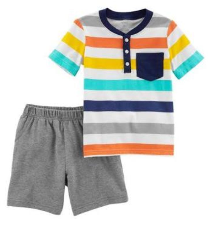 Conjunto Pijama Listrado - Carter's