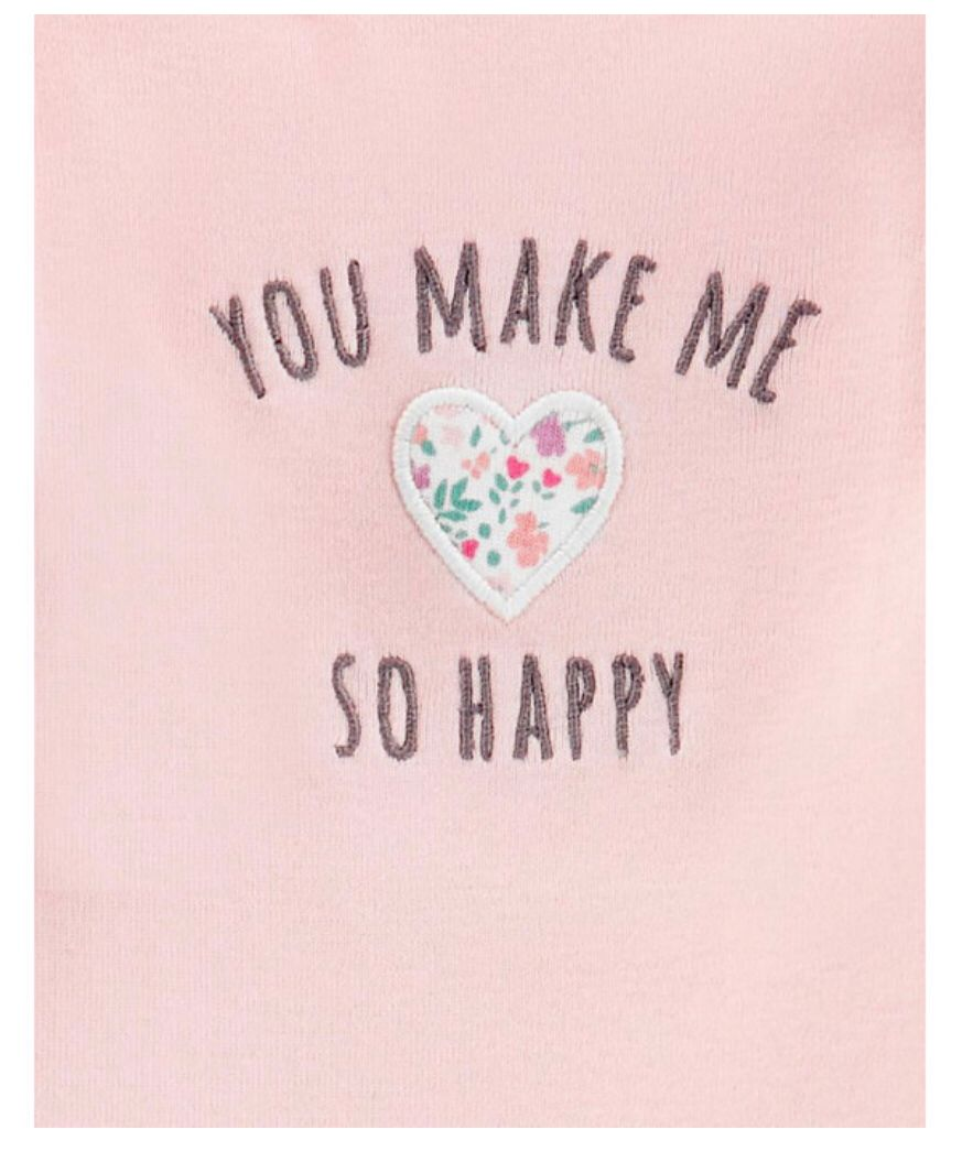 Kit 3 pçs You Make Me so Happy - Carters