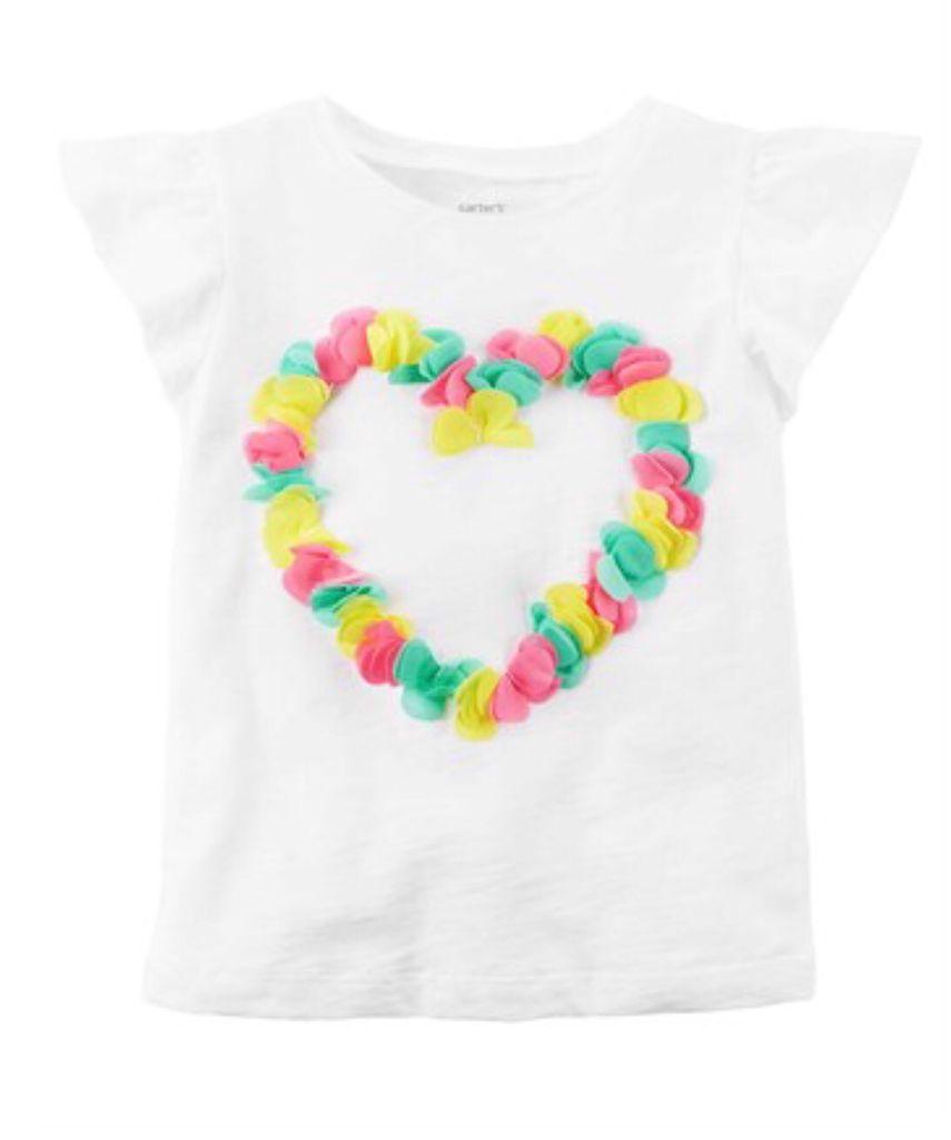 Kit Camiseta Heart + 2 shorts preto/branco - Carters