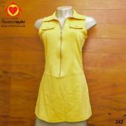 Camiseta Alça Amarela