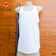Camiseta Fitness Branca