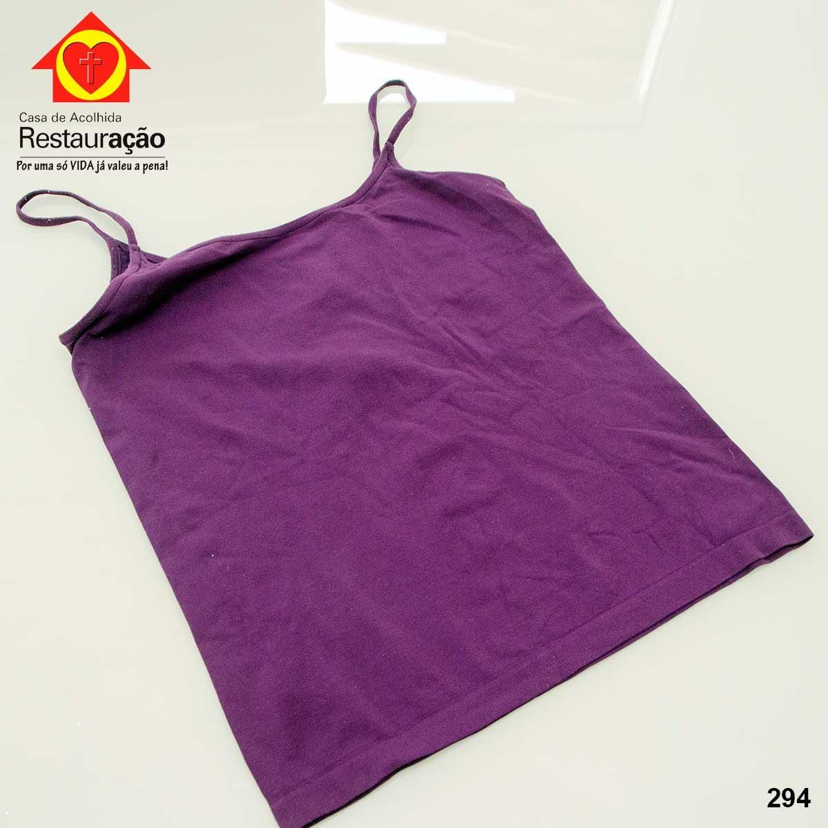 Blusa de Alça Roxa