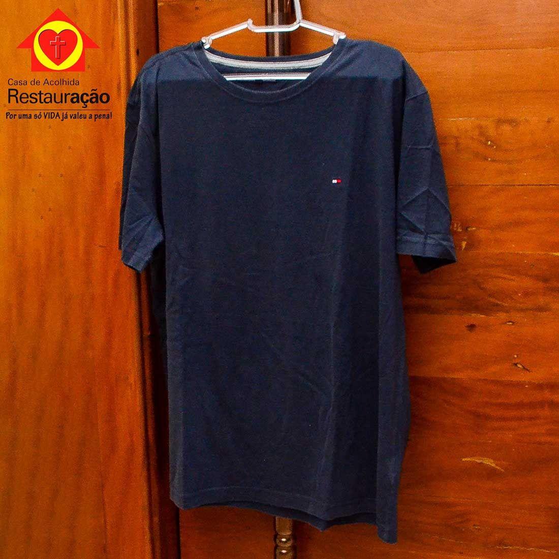 Camiseta Azul Marinho Masculina