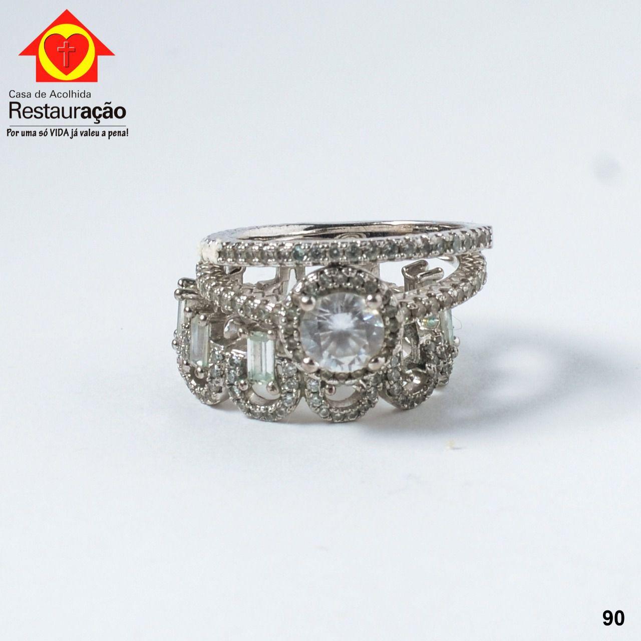 Conjunto 3 Anéis em Prata