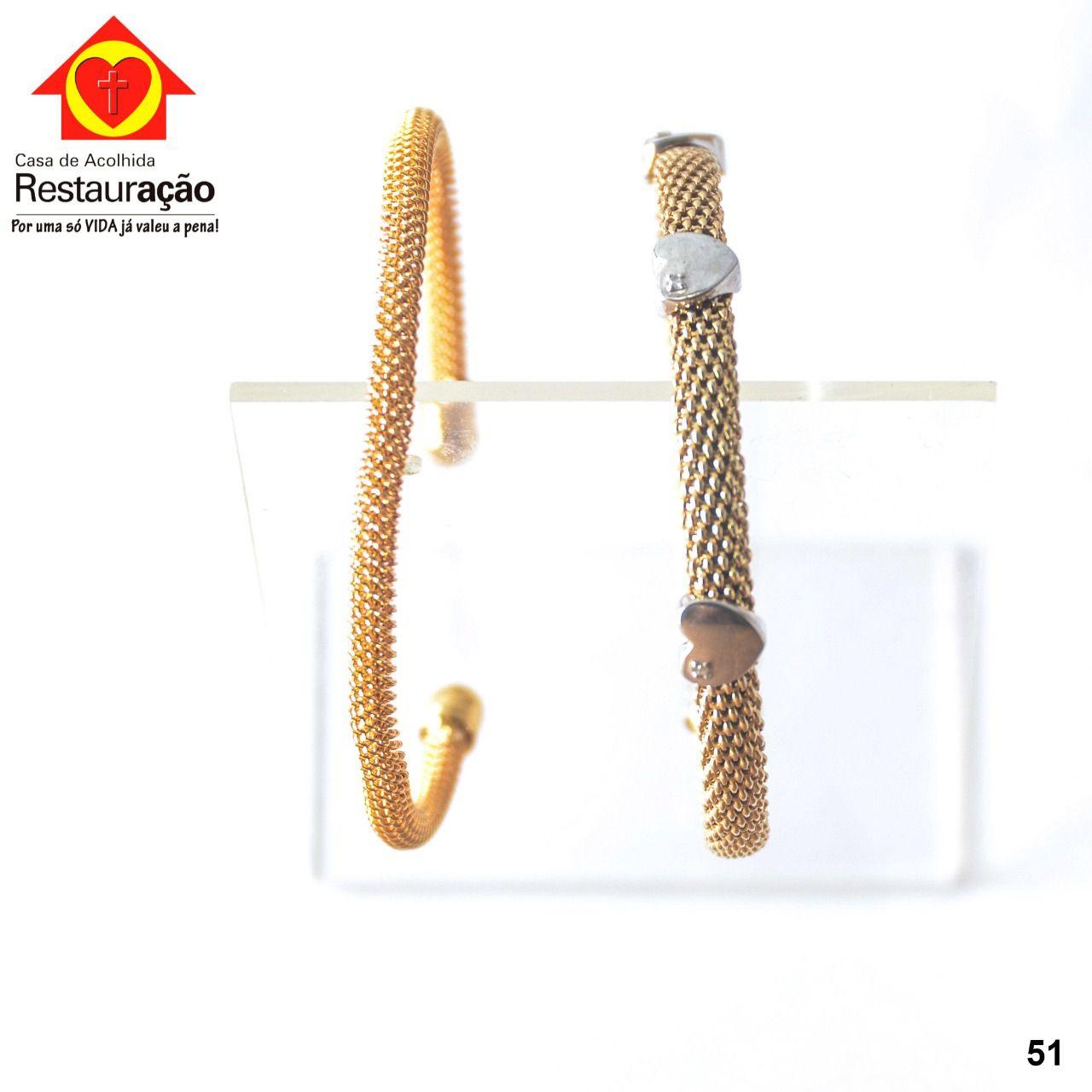 Kit Pulseira Dourada