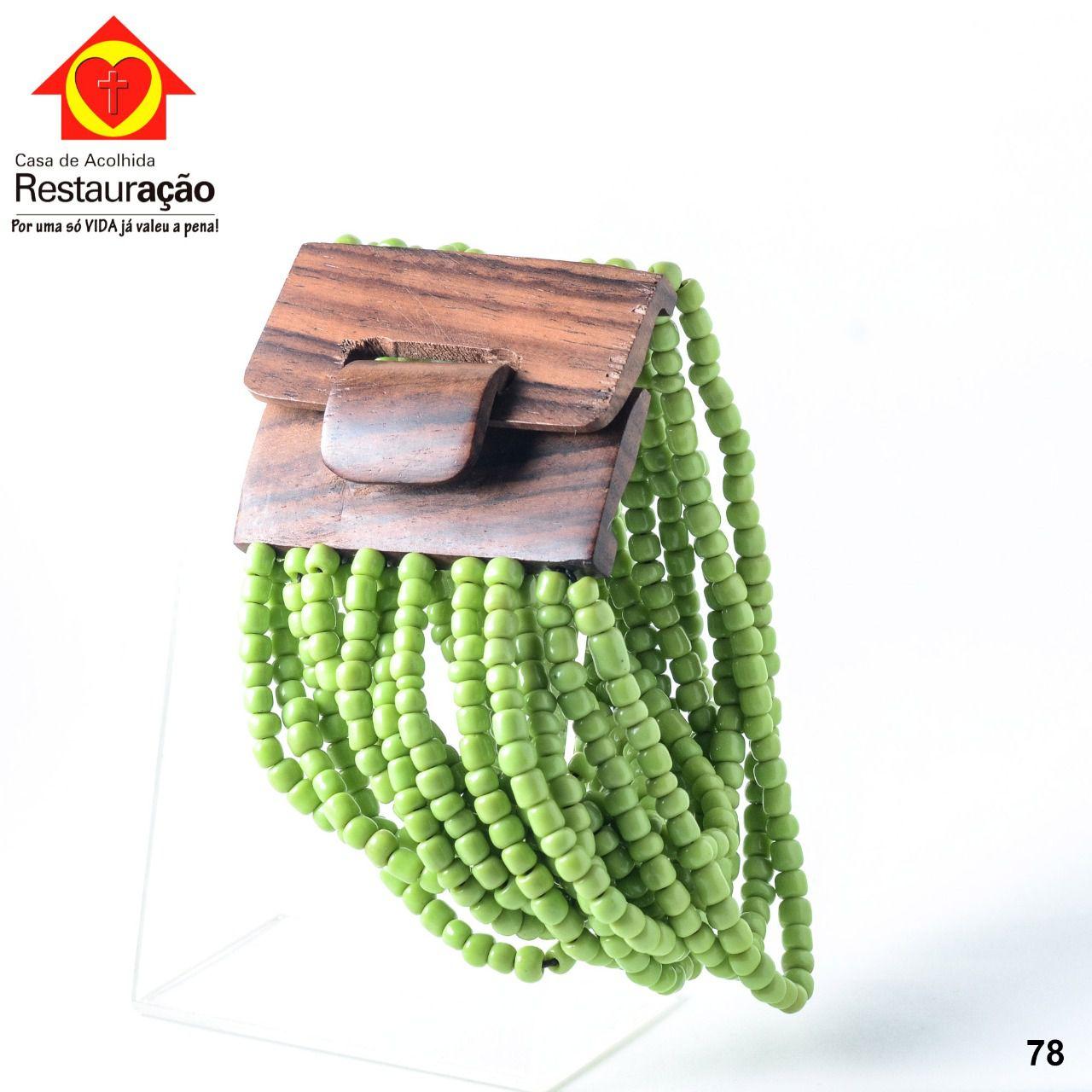 Pulseira Miçanga Verde