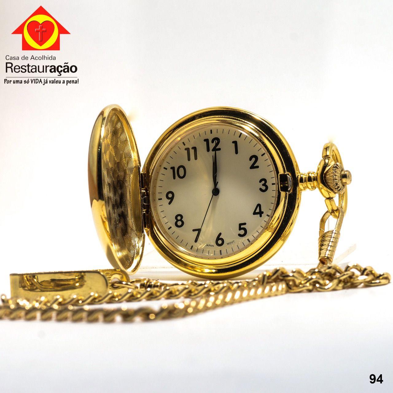 Relógio de Bolso Analógico