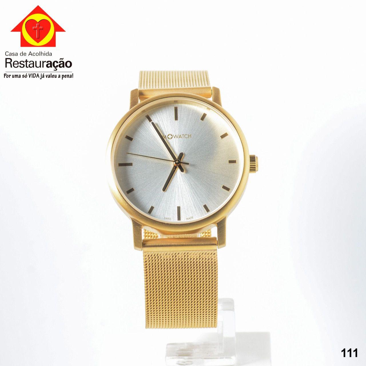 Relógio Dourado M + Watch