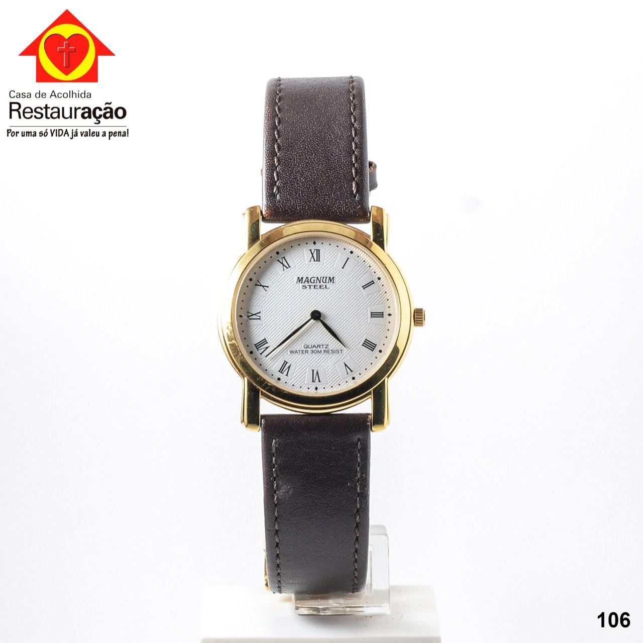 Relógio Magnum Steel