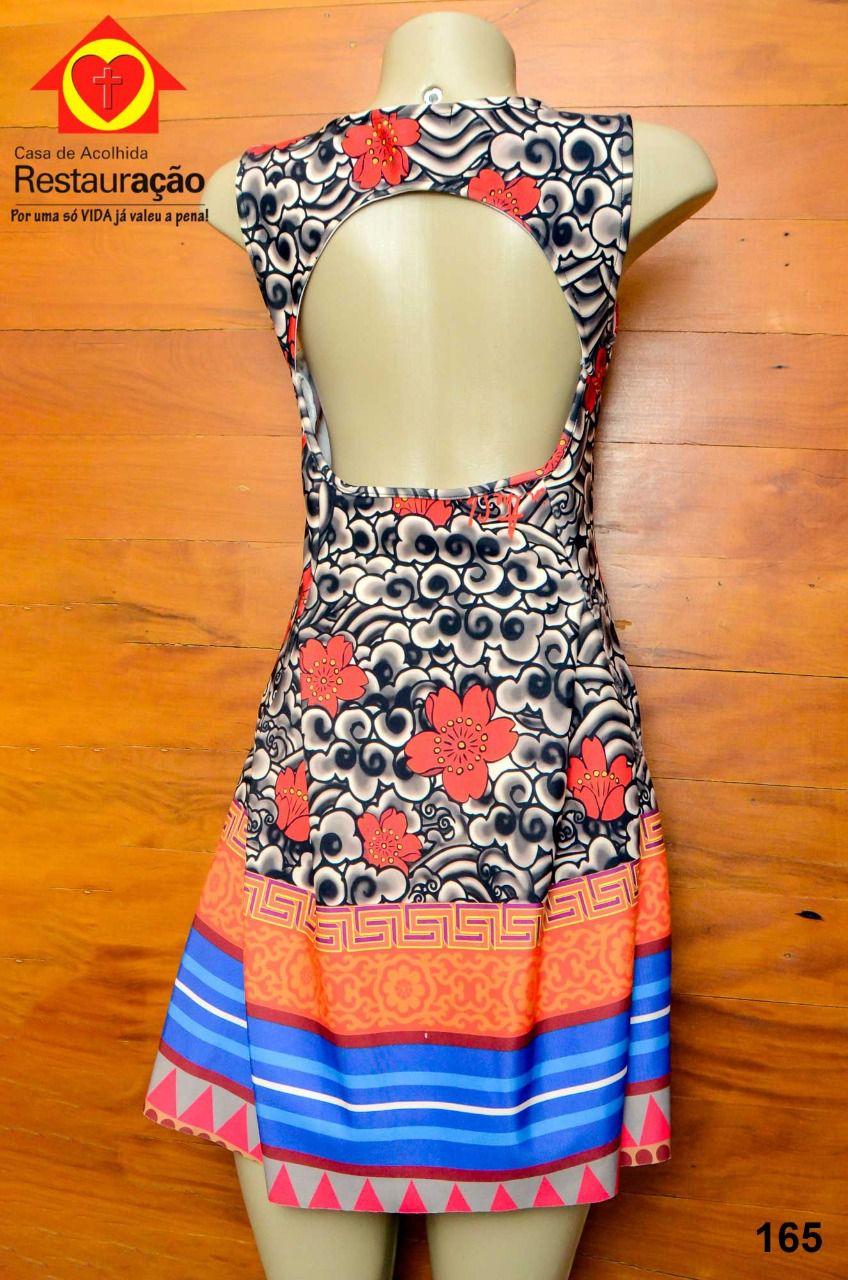 Vestido com Alça Larga