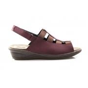 Sandália Vegano Shoes Confort Cereja - Com Elástico