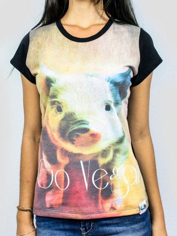 Baby look Vegano Shoes go vegan pig 1160