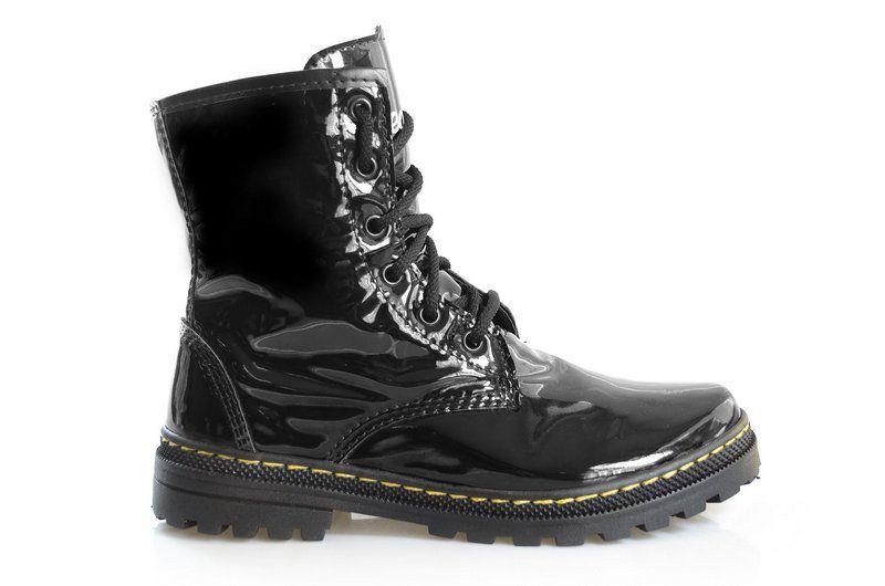 Boot Asplênio Preto - The Original Vegan
