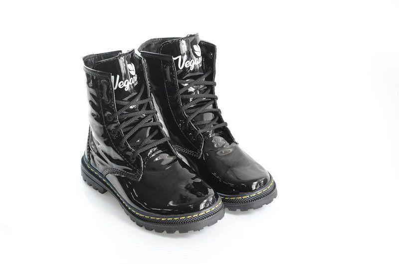 Boot Vegano Shoes Asplênio Preto - The Original Vegan