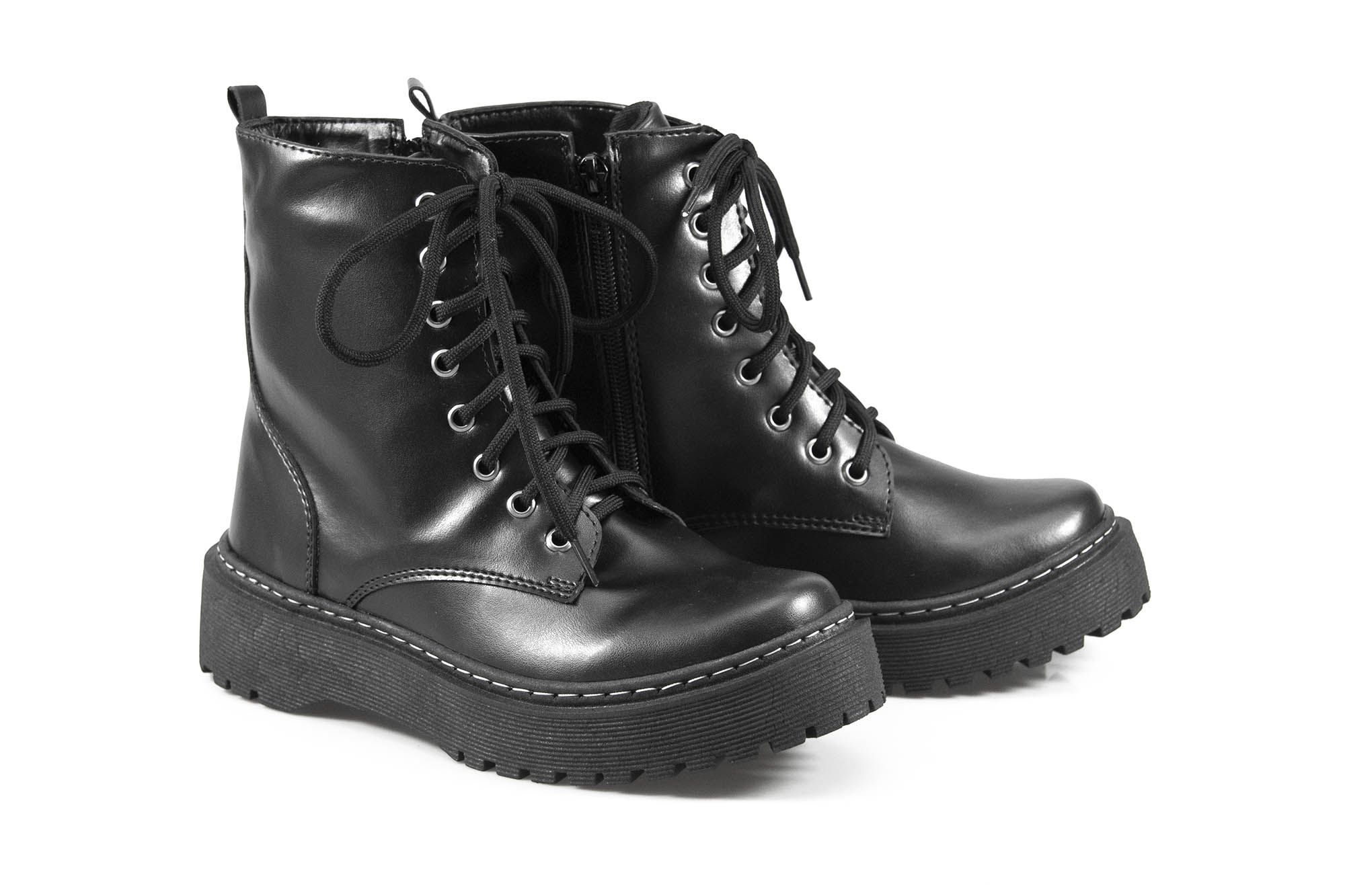 Boot Vegano Shoes Asplênio Preto - The Original Vegan