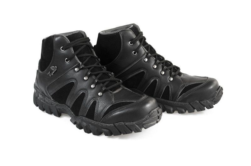 Boot Vegano Shoes Jatobá Cano Alto Preto