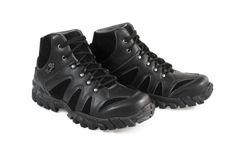 Boot Vegano Shoes Jatobá Cano Alto Preto