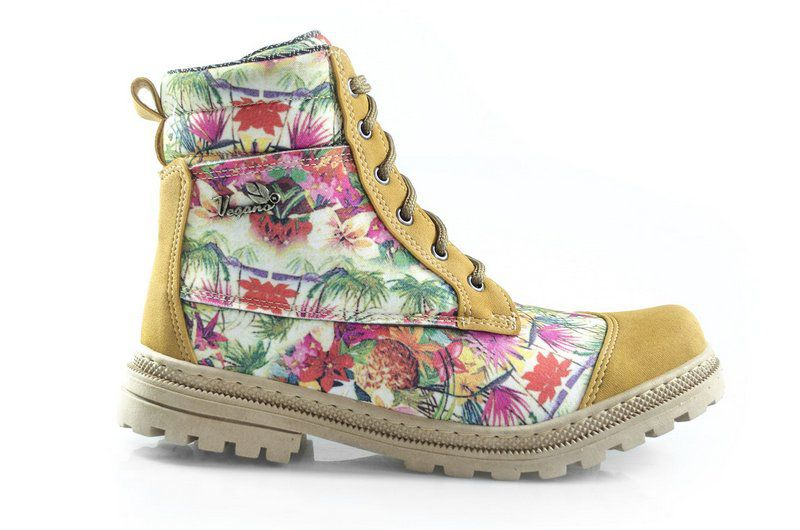 Bota Naturale Floral Mostarda