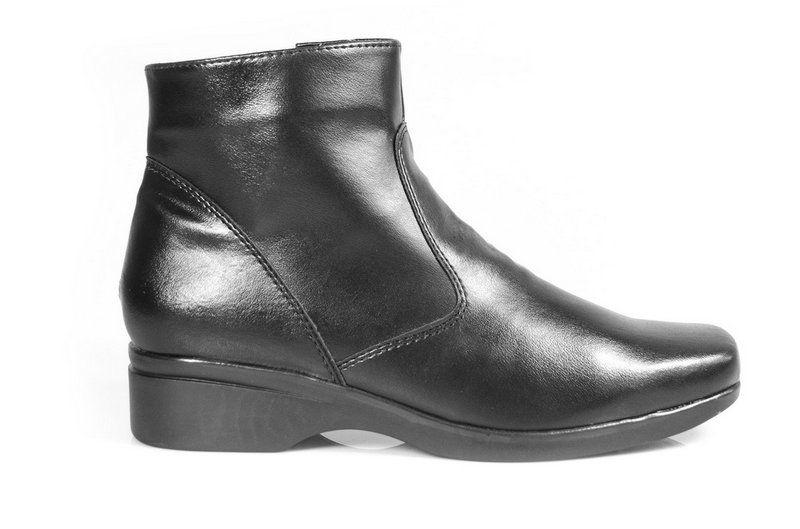 Bota Vegano Shoes Abutilon Preta