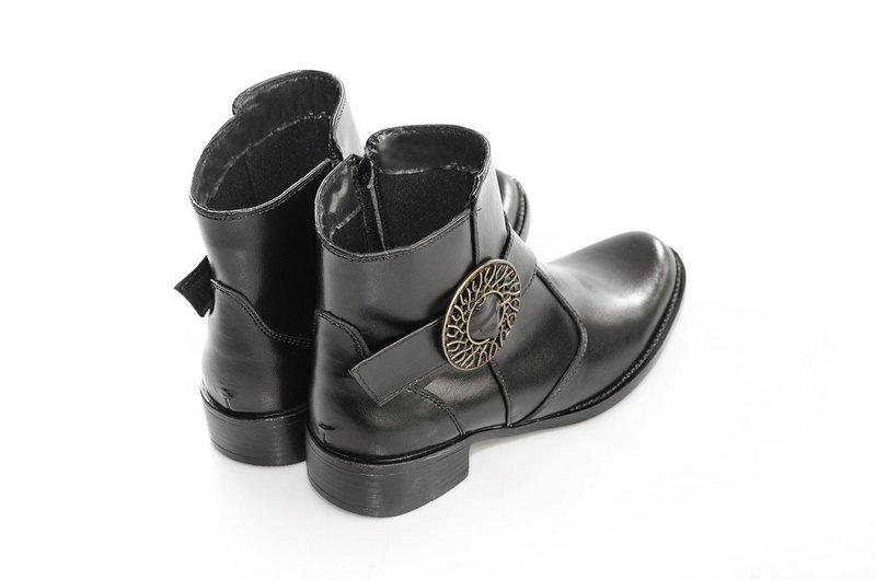 Bota Vegano Shoes Bardana Preta