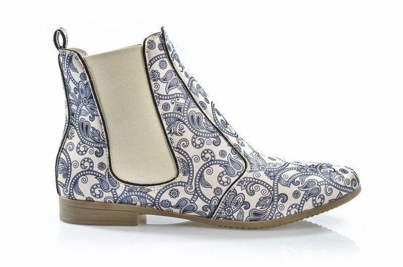 Bota Vegano Shoes Chelsea Clívia Hinduísmo