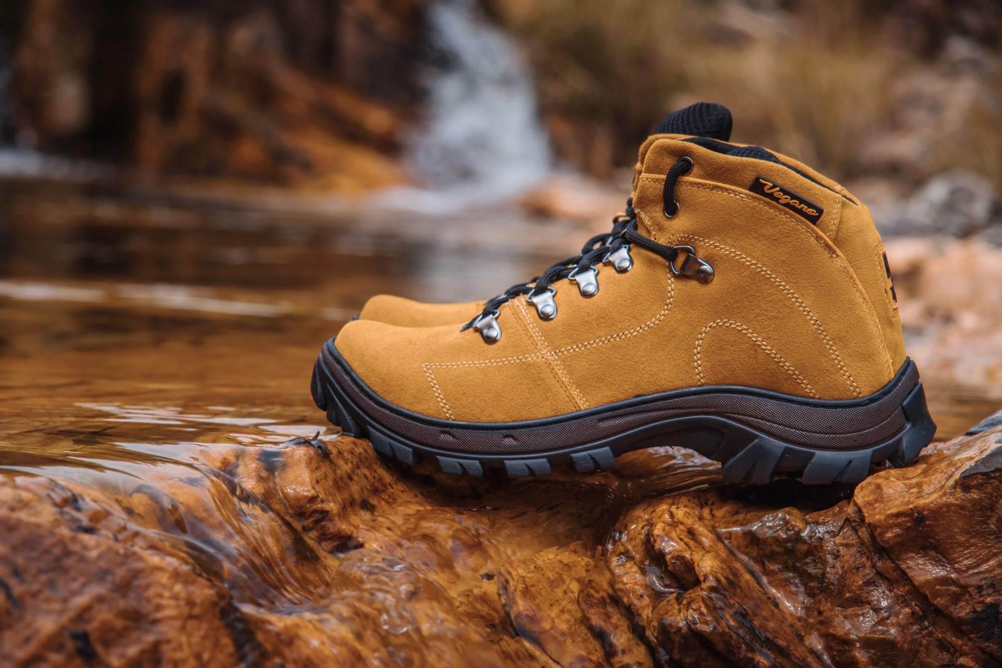 Bota Vegano Shoes Cross Amazônia Amarela