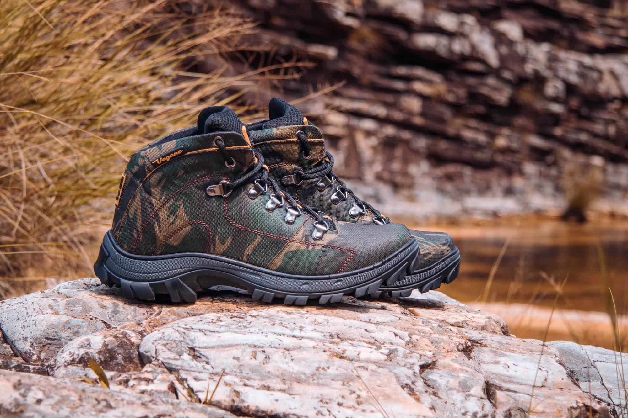 Bota Vegano Shoes Cross Amazônia Camuflada
