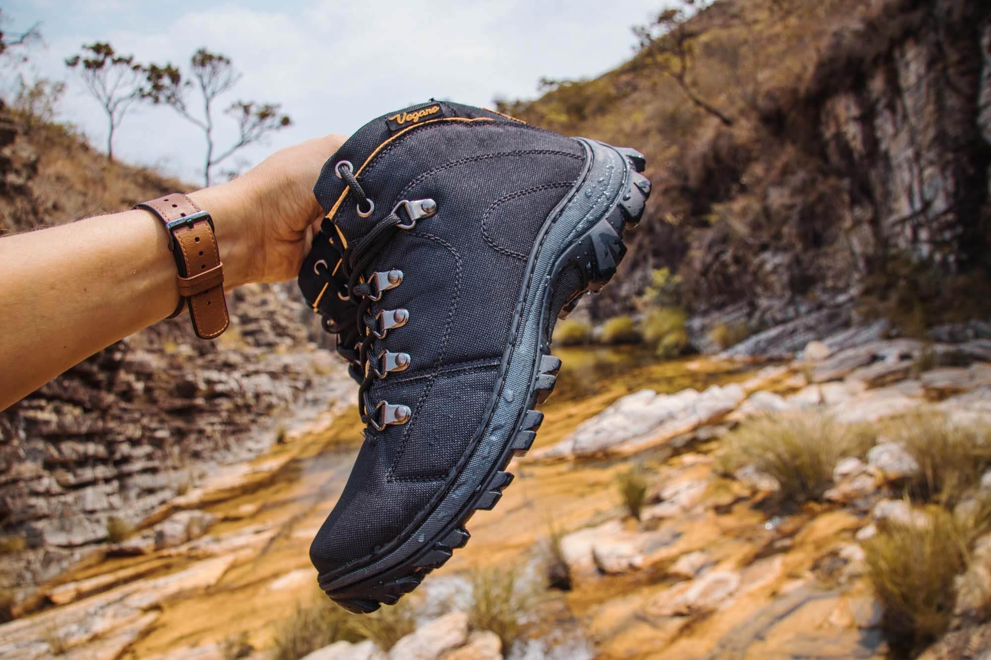 Bota Vegano Shoes Cross Amazônia Preta