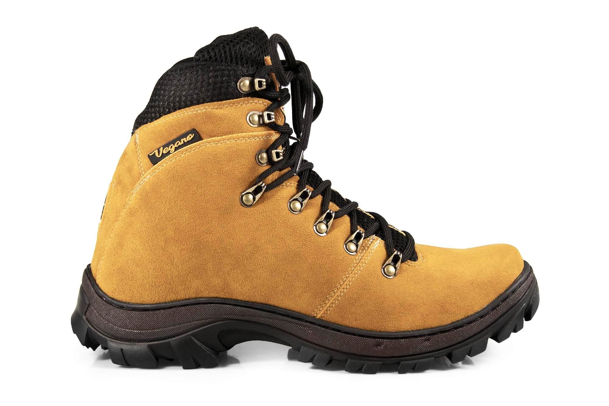 Bota Vegano Shoes Cross Tanguá Amarela