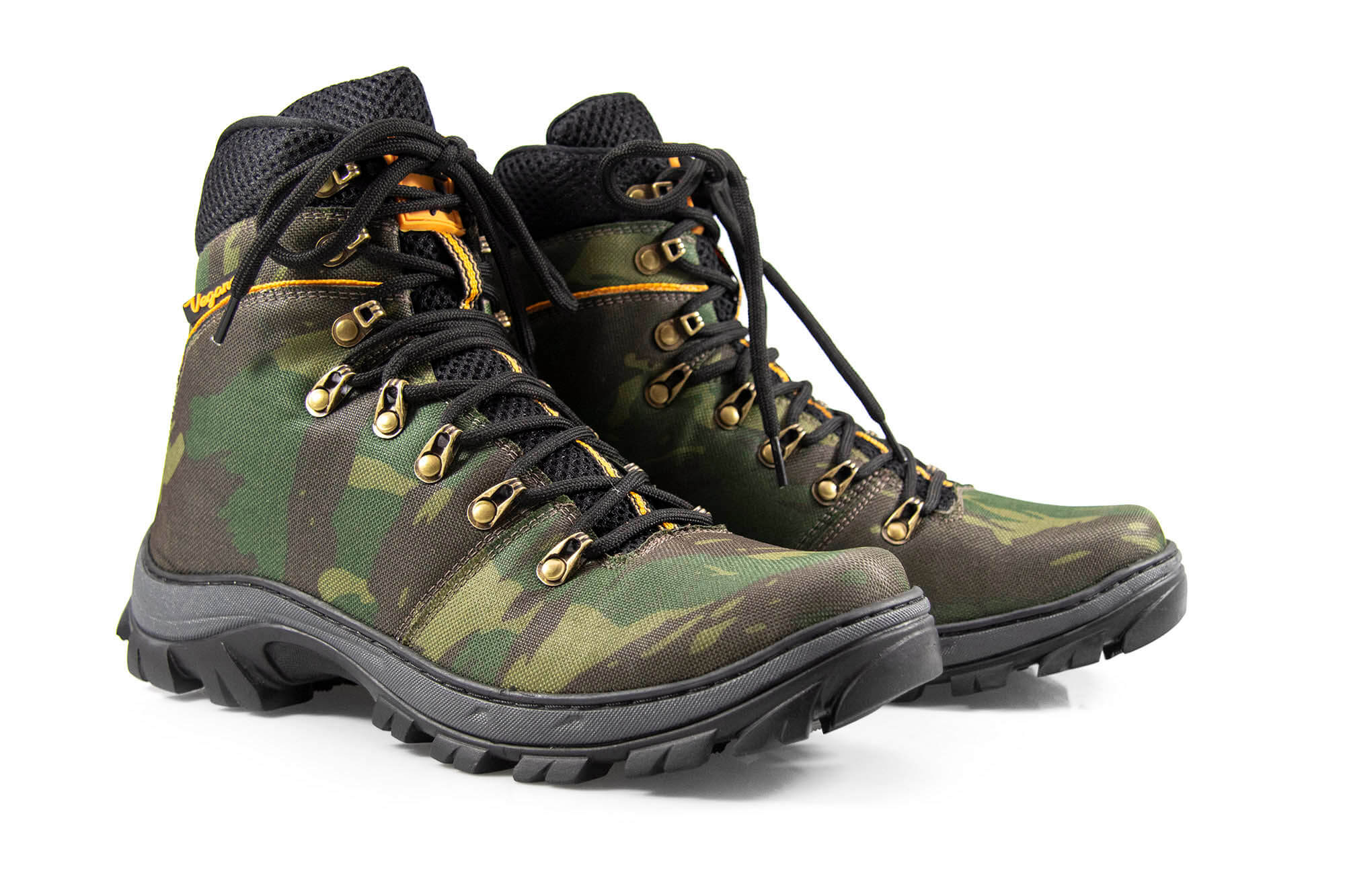 Bota Vegano Shoes Cross Tanguá Camuflada