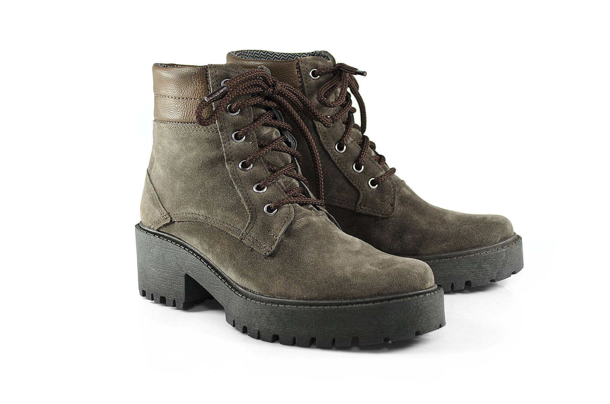 Bota Vegano Shoes Eco Poppy Musgo
